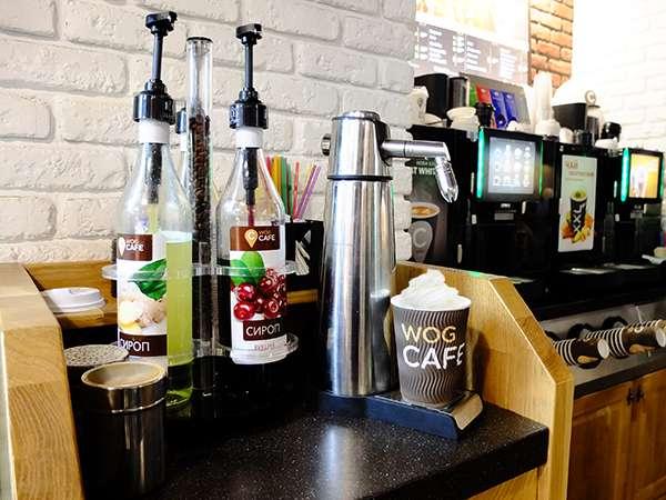 WOG Cafe и сифон iSi