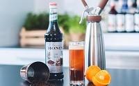"""Новый летний рецепт коктейля """"Monin Fruity-Tonic"""""""