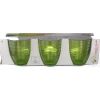 Pasabahce Mexico 52427 Стакан низкий 285 мл (зеленый) в интернет магазине профессиональной посуды и оборудования Accord Group
