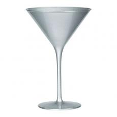 Бокал для мартини Stoelzle Olympic серебряный 240 мл