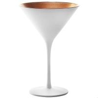 Stoelzle Olympic Бокал для мартини матовый-белый/бронзовый 240 мл в интернет магазине профессиональной посуды и оборудования Accord Group