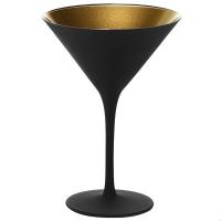 Stolzle Olympic Бокал для мартини матовый-черный/золотой 240 мл в интернет магазине профессиональной посуды и оборудования Accord Group