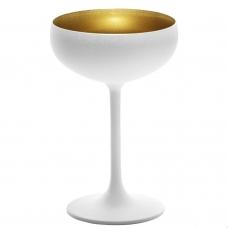 Stoelzle Olympic Бокал для шампанского матовый-белый/золотой 230 мл