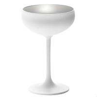 Stoelzle Olympic Бокал для шампанского матовый-белый/серебряный 230 мл в интернет магазине профессиональной посуды и оборудования Accord Group