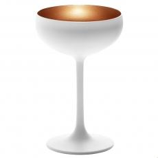 Купить Бокал для шампанского Stoelzle Olympic матовый-белый/бронзовый 230 мл