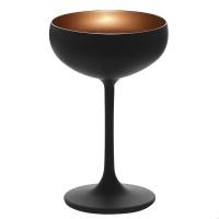 Stoelzle Olympic Бокал для шампанского матовый-черный/бронзовый 230 мл в интернет магазине профессиональной посуды и оборудования Accord Group