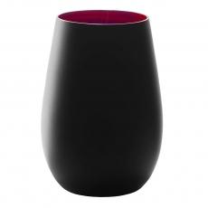 Купить Стакан Stoelzle Red&Black матовый-черный/красный 465 мл