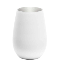 Купить Stoelzle Olympic Стакан матовый-белый/серебряный 465 мл