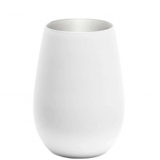 Стакан Stoelzle Olympic матовый-белый/серебряный 465 мл
