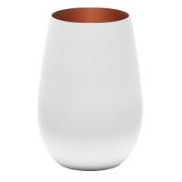 Stoelzle Olympic Стакан матовый-белый/бронзовый 465 мл в интернет магазине профессиональной посуды и оборудования Accord Group