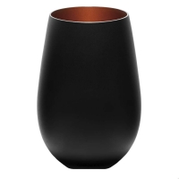 Stoelzle Olympic Стакан матовый-черный/бронзовый 465 мл в интернет магазине профессиональной посуды и оборудования Accord Group
