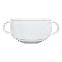 Lubiana Merkury Бульонная чашка 320 мл с ручками  в интернет магазине профессиональной посуды и оборудования Accord Group