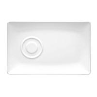 Lubiana Paula Блюдце прямоугольное 20/13 в интернет магазине профессиональной посуды и оборудования Accord Group