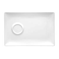Lubiana Paula Блюдце прямоугольное 25/17 в интернет магазине профессиональной посуды и оборудования Accord Group
