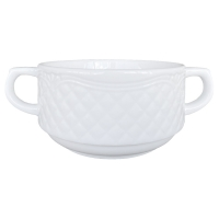 Lubiana Afrodyta Бульонная чашка 300 мл с ручками  в интернет магазине профессиональной посуды и оборудования Accord Group