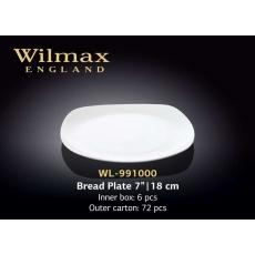 Wilmax Тарелка квадратная 180 мм