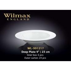 Wilmax Тарелка глубокая круглая 230 мм