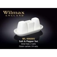 Купить Wilmax Набор соль, перец и зубочистки на подставке (4 предмета)