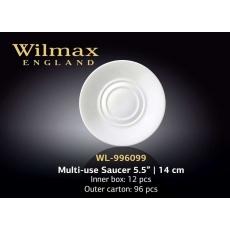 Wilmax Блюдце универсальное 140 мм