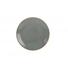 Купить Porland Seasons Dark Gray Тарелка круглая 180 мм