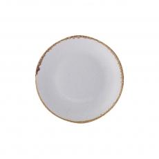 Купить Porland Seasons Gray Тарелка круглая 180 мм