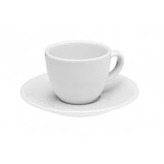 Купить Porland Basic Alumilite Чашка кофейная с блюдцем 80 мл