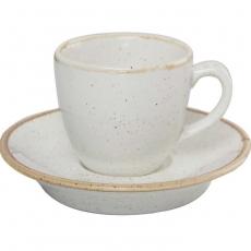 Купить Porland Seasons Beige Чашка кофейная 80 мл с блюдцем