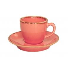 Купить Porland Seasons Orange Чашка кофейная 80 мл с блюдцем в наборе