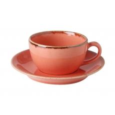 Купить Porland Seasons Orange Чашка чайная 200 мл с блюдцем 160 мм в наборе