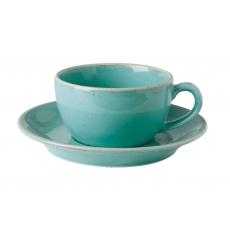 Купить Porland Seasons Turquoise Чашка чайная 200 мл с блюдцем 160 мм в наборе