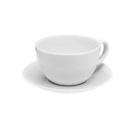 Porland Soley Alumilite Чашка чайная с блюдцем 320 мл в интернет магазине профессиональной посуды и оборудования Accord Group