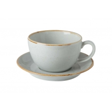 Купить Porland Seasons Gray Чашка чайная 320 мл с блюдцем 160 мм в наборе