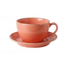 Купить Porland Seasons Orange Чашка чайная 320 мл с блюдцем 160 мм в наборе