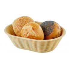 Купить Корзинка для хлеба или фруктов овальная бежевая APS 40215