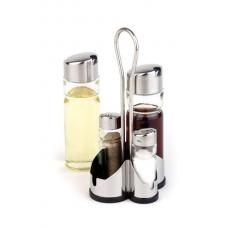 Набор соль, перец, масло и уксус APS Economix 40460