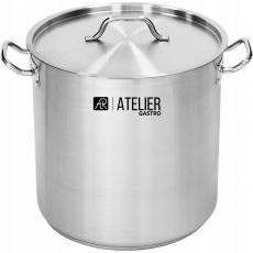 Купить Кастрюля высокая с крышкой 36,6 л Atelier Gastro
