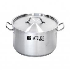 Кастрюля средняя с крышкой 11,1 л Atelier Gastro