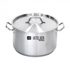 Купить Кастрюля средняя с крышкой 11,1 л Atelier Gastro