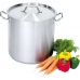Кастрюля высокая с крышкой Stalgast 6,3 л (011202) в интернет магазине профессиональной посуды и оборудования Accord Group