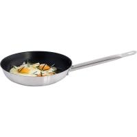 Сковорода нержавеющая с антипригарным покрытием Stalgast 24 см (014244) в интернет магазине профессиональной посуды и оборудования Accord Group