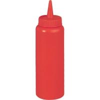 Бутылка для соуса 350 мл красная Stalgast 65351 в интернет магазине профессиональной посуды и оборудования Accord Group