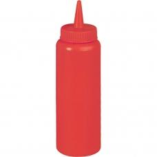 Бутылка для соуса 350 мл красная Stalgast 65351