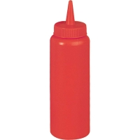 Бутылка для соуса 700 мл красная Stalgast 65721 в интернет магазине профессиональной посуды и оборудования Accord Group