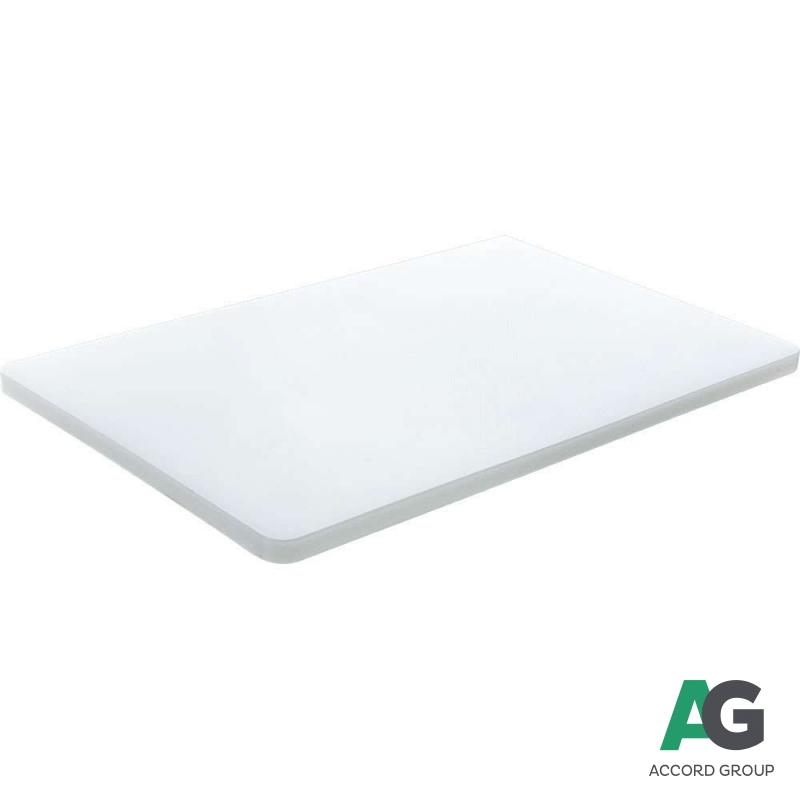 Купить Доска разделочная белая 440х290х20 мм Stalgast 3404403
