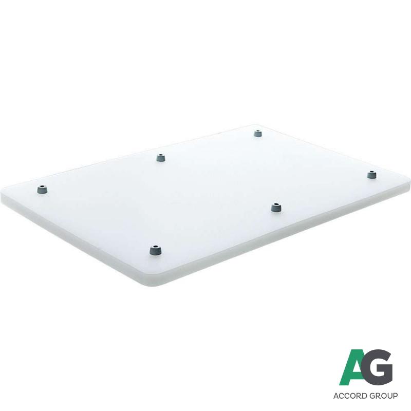Купить Доска разделочная белая 440х290х20 мм Stalgast 3404400