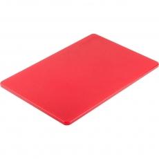 Купить Доска разделочная красная 450х300х13 мм Stalgast 341451