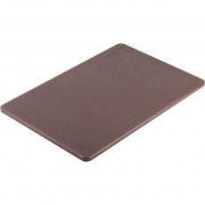 Купить Доска разделочная коричневая 450х300х13 мм Stalgast 341456