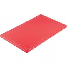Доска разделочная красная 500х325х15 мм Stalgast 341531