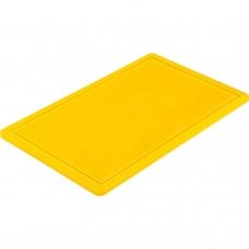 Доска разделочная желтая 500х325х15 мм Stalgast 341533