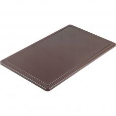 Купить Доска разделочная коричневая 530х325х15 мм Stalgast 341536